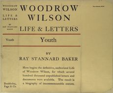 Woodrow Wilson : life and letters. (Vol. 1. Youth) - ID: 489956 - NYPL Digital Gallery
