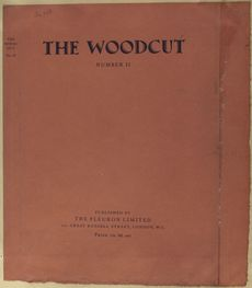 The Woodcut; an annual. (No. 2) - ID: 489933 - NYPL Digital Gallery