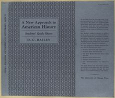 A new approach to American history; students' guide sheets - ID: 489932 - NYPL Digital Gallery