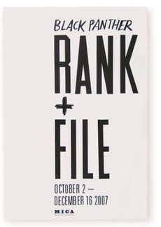 Rank+File : Oliver Munday Graphic Design