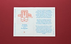 Spring Mailer.   Two Times Elliott. Creative Agency, Notting Hill. +44 (0)203 214 3133