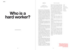 Hard Worker magazine - Field Process