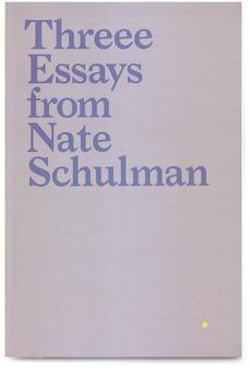 Threee Essays   Scott Reinhard