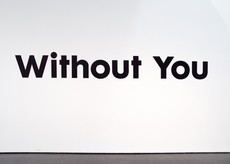 Without You I'm Nothing title wall | Scott Reinhard