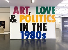This Will Have Been: Art, Love & Politics in the 1980s Title Wall | Scott Reinhard