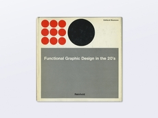 Display | Functional Graphic Design in the 20's | Modern and Rare Graphic Design Books