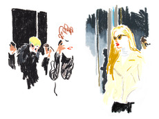 London Fashion Week for T Magazine : damienflorebertcuypers.com