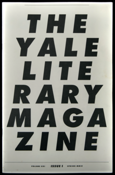 David Rudnick — The YaleLiterary Magazine