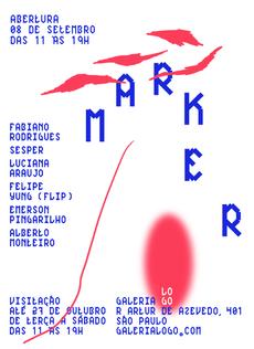 MARKER – Galeria LOGO | David Galasse