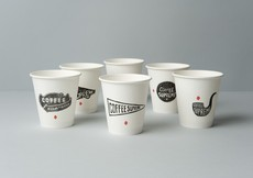 Best Awards - Hardhat Design. / Coffee Supreme / take-out cups