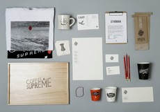 Best Awards - Hardhat Design. / Coffee Supreme / re-brand