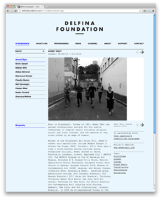 Spin — Delfina Foundation