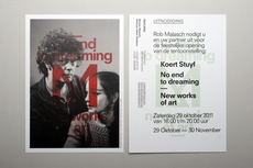 OK200 / Graphic Design Studio / Amsterdam / Koert Stuyf / No End To Dreaming