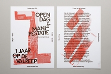 OK200 / Graphic Design Studio / Amsterdam / Op de Valreep 1 Year Anniversary