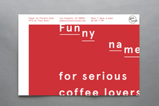Public-Library » Projects » Paper or Plastik Cafe Breakfast Postcard
