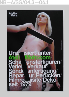 Neubau (Berlin)/Atelier Mohr, Corporate Design/Flyer Series (2003—2010)