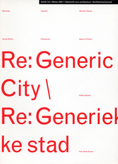 OASE 54 Re: Generic City