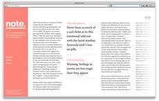 Note - Ryan Stannage | Graphic Design