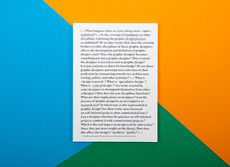 David Ortiz | Undefining Graphic Design. Research, Boundaries & Criticism | thesis, book