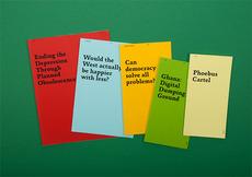 David Ortiz | Planned Obsolescence | editorial design, typography