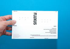 David Ortiz | Fluxus | editorial design, typography