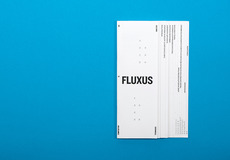 David Ortiz | Fluxus | editorial design, typography