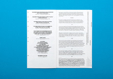 David Ortiz   Fluxus   editorial design, typography