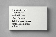 BVD — Mattias Jersild