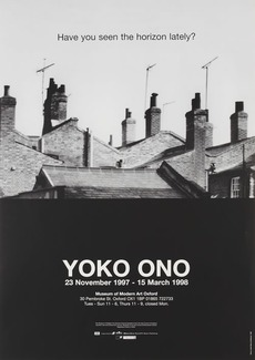 Modern Art Oxford 50:50 | 28. Yoko Ono, Have you seen the horizon lately?