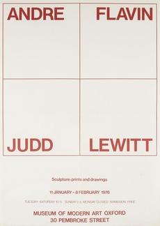 Modern Art Oxford 50:50 | 15. Andre, Flavin, Judd, Lewitt
