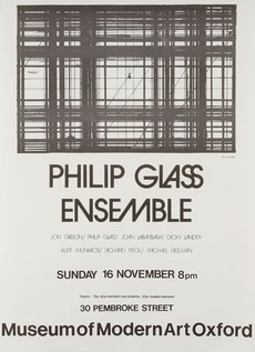 Modern Art Oxford 50:50 | 41. Philip Glass Ensemble