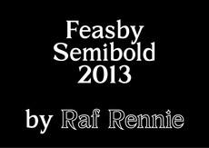 Feasby Semibold : Raf Rennie