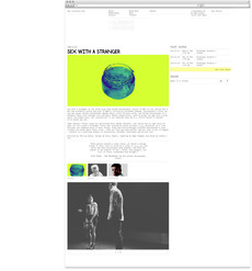 Julia | The Invisible Dot website