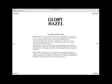 Bureau Collective – Glory Hazel Website