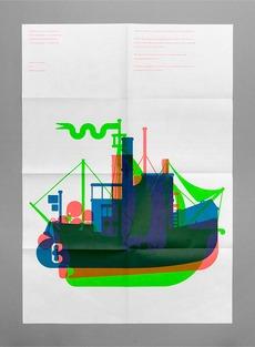 Maddison Graphic Christmas Card 2010