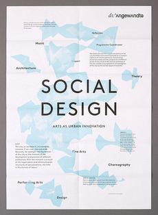 Social Design - Manuel Radde — Graphic Design