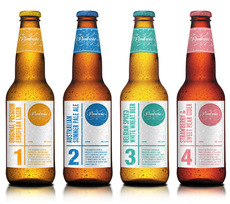 Pembroke Craft Brewery - Package Design Blog - TheDieline.com