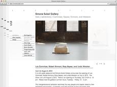 Simone Subal Gallery New York - Manuel Radde — Graphic Design