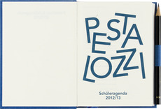 Pestalozzi Student Agenda: B & R Graphic Design