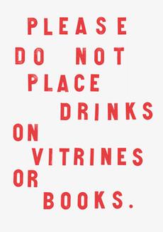 Fraser Muggeridge studio: Arnaud Desjardin - Please do not place drinks on vitrines or books, Focal Point Gallery 2011