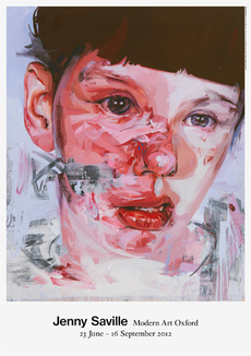 Fraser Muggeridge studio: Jenny Saville, Modern Art Oxford 2012