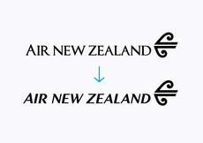 Best Awards - Designworks. / Air New Zealand Wordmark