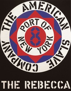 THE REBECCA   Robert Indiana   Pre-eminent figure of American art and pioneer of assemblage art, hard-edge abstraction, and pop art