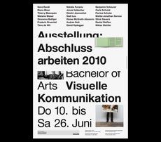 Hochschule der Künste Bern : B & R Grafikdesign