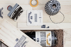 Motorman ChocolateLager - TheDieline.com - Package Design Blog