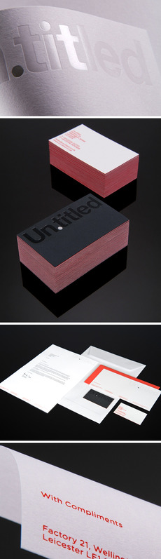 Un.titled Stationery : James Warfield / Creative Director