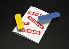 Abnormal signage2013 - Kasper Pyndt