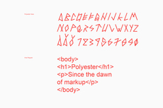 Bedow — Examples of Work — Identity, Polyester