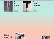 Garmentory (Website) - Maggie Chok—Graphic Design