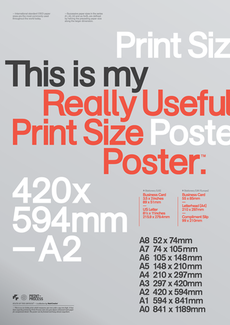 Print-Process / Product / Print sizes